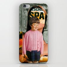 Check Your Head (collaboration with the amazing Peter Campbell)  iPhone & iPod Skin