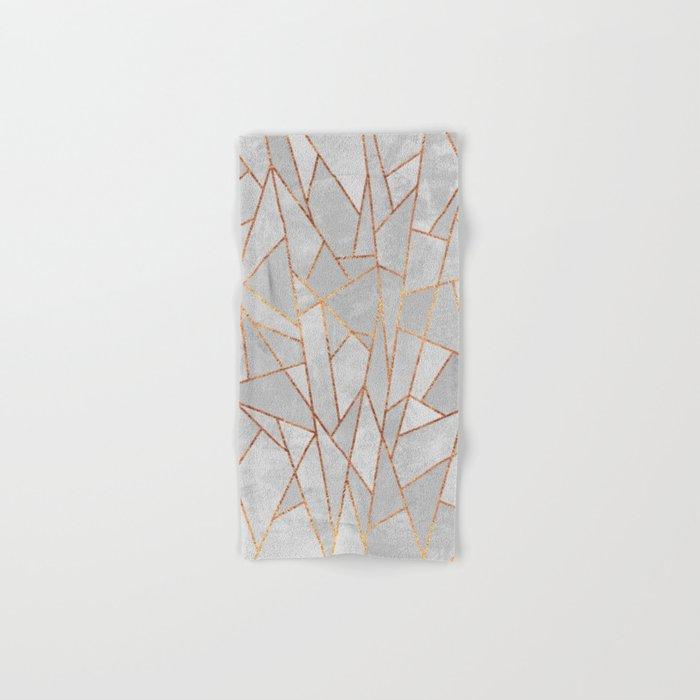 Shattered Concrete Hand & Bath Towel