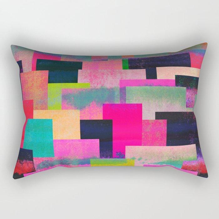 colour + pattern 4 Rectangular Pillow