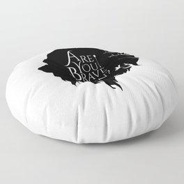 Brave Again Floor Pillow