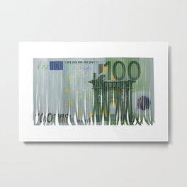 euro Metal Print