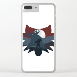 The beast hunt (v2) Clear iPhone Case