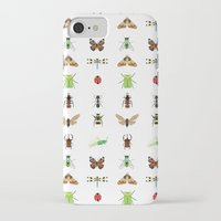 insects iPhone & iPod Cases featuring insects by Alysha Dawn