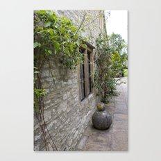 English Garden - Walk Canvas Print