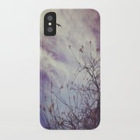 flight iPhone & iPod Cases featuring FLIGHT by ALLY COXON