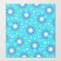 Decoration in blue by cocodes