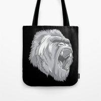 gorilla Tote Bags featuring Gorilla by Taranta Babu