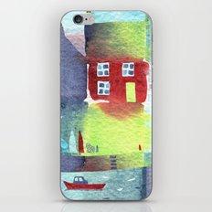 Quiet Harbour iPhone & iPod Skin