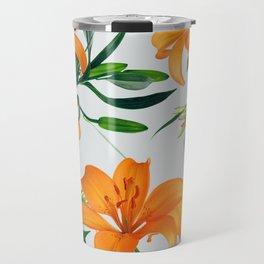 Glorious Lilies Travel Mug