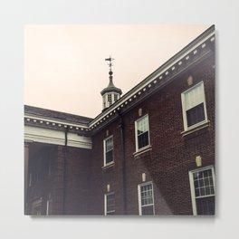 Historical Building Metal Print