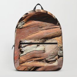 Eucalyptus tree bark texture Backpack