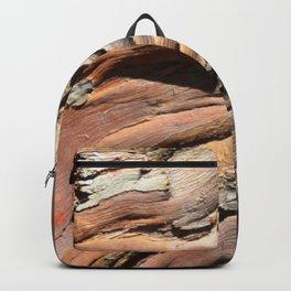 Eucalyptus tree bark texture Backpack