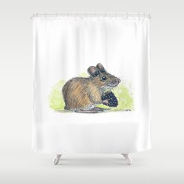 Field Mouse  Shower Curtain