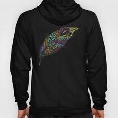 Tribal Feather Hoody