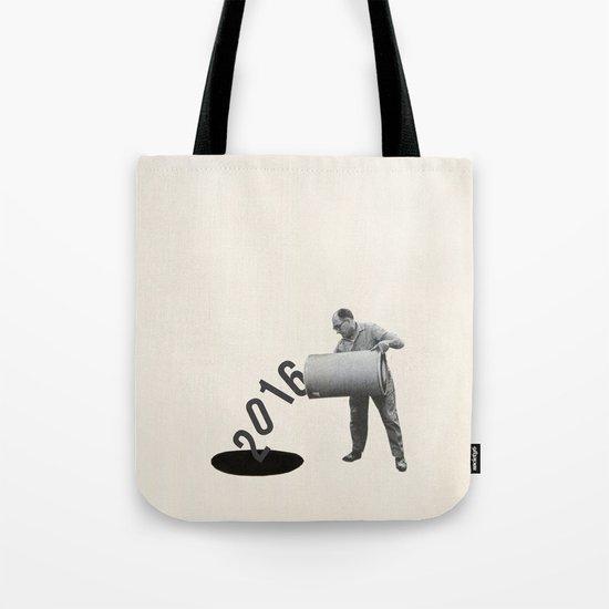 Noir Year Tote Bag