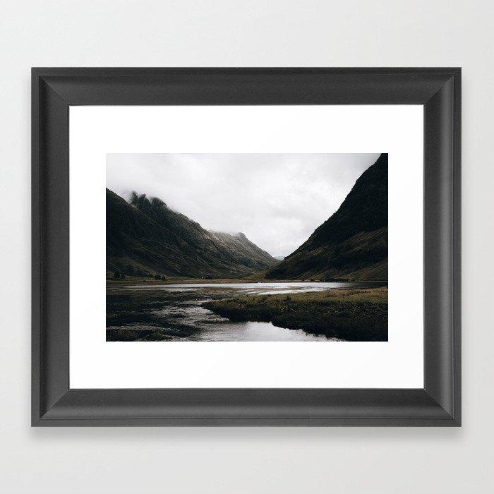 Glen Coe / Scotland Gerahmter Kunstdruck