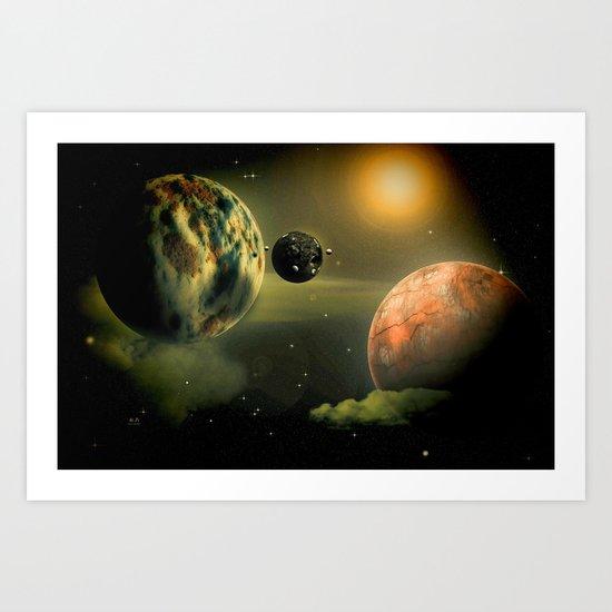 Space One Art Print