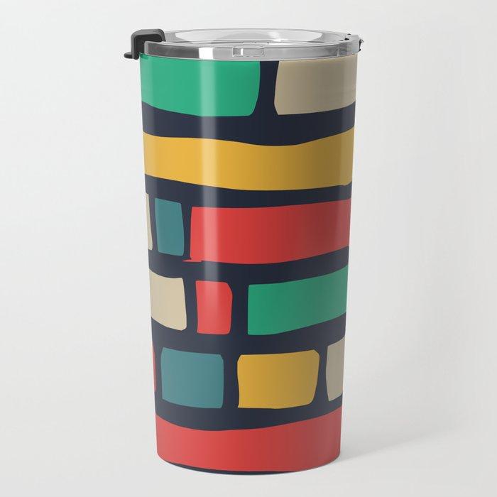 Color tape of life Travel Mug