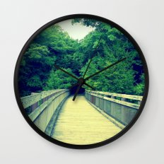Into the Adventure Wall Clock