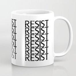 RESIST Print Coffee Mug