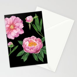 Fresh peonies Stationery Cards