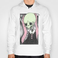 loll3 Hoodies featuring Death (Tarot Cards Series 2014) by lOll3