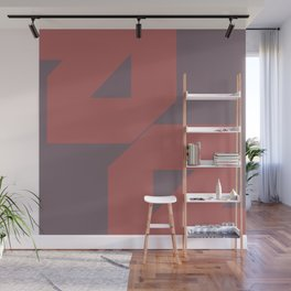 Power Of Unity - Mid Century Modern Minimal Shapes Wall Mural
