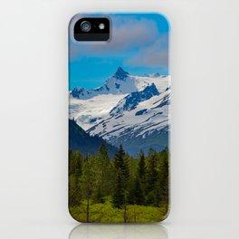 Bear_Creek Mountain Glacier - Alaska iPhone Case
