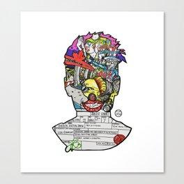 Smug Shot (part 2) Canvas Print