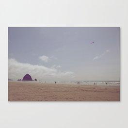 Vintage Cannon Beach Canvas Print