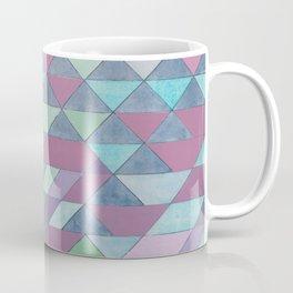 Triangle Pattern no.3 Violet Coffee Mug