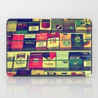 cigarette iPad Cases featuring cigarette collection by gzm_guvenc