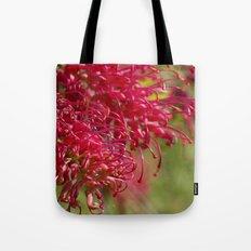 Flor roja Tote Bag