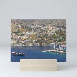 Symi Island in Greece Mini Art Print
