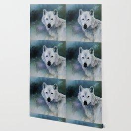 Spirit of White Wolf Wallpaper