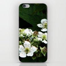 Fraises des bois Flowers iPhone & iPod Skin