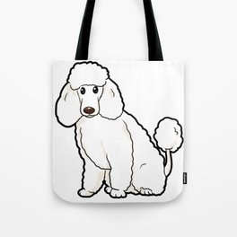 Poodle Dog funny happy cute Puppy love Owner gift Tote Bag