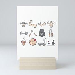 Healthy Lifestyle Mini Art Print