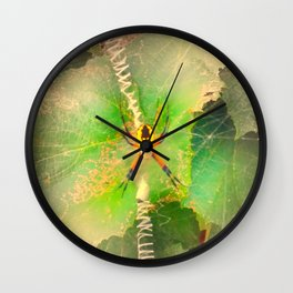 Orb Spider Wall Clock