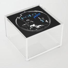 polo black Acrylic Box
