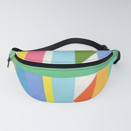 Triangle Stripes Fanny Pack