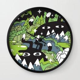 Little Lurkers Wall Clock