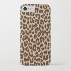 Leopard Print iPhone 7 Slim Case