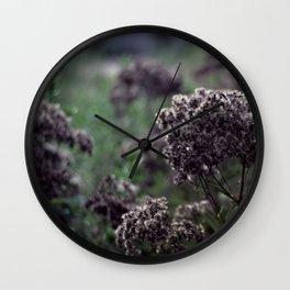 Dark Gardens Wall Clock