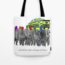 Bullied Taxi Tote Bag