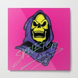 Bonehead Metal Print