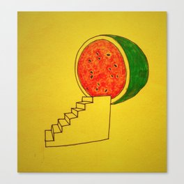 To Watermelon Canvas Print