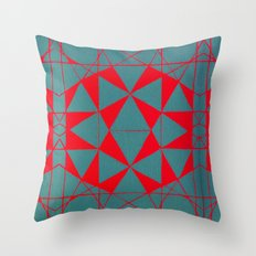 Dodecahedron Throw Pillow
