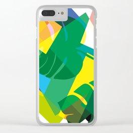 Rainforest Magic Clear iPhone Case