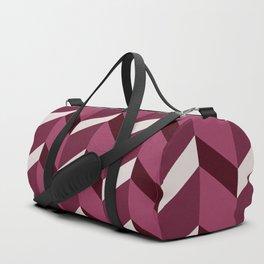 Cherry Cola Chevrons Duffle Bag